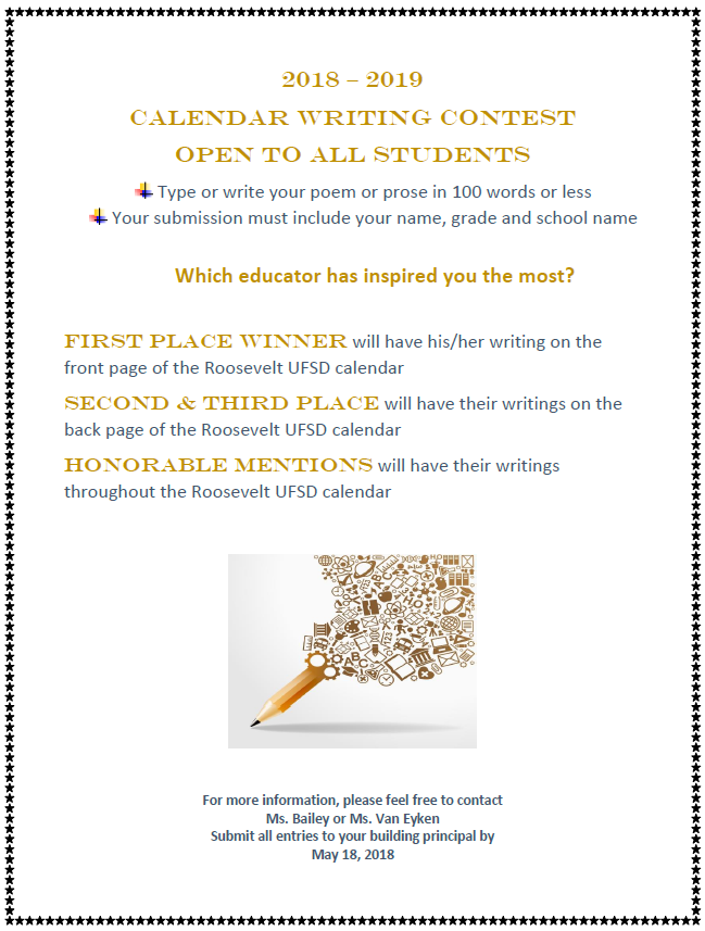 District Initiatives / Writing Contest